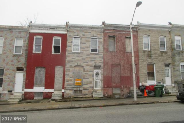 2545 Hollins Street, Baltimore, MD 21223 (#BA9864511) :: Pearson Smith Realty