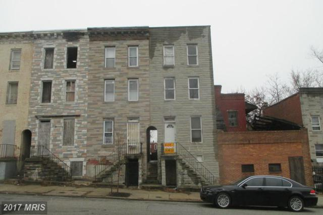 2552 Hollins Street, Baltimore, MD 21223 (#BA9864582) :: Pearson Smith Realty