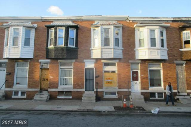 2612 Fairmount Avenue W, Baltimore, MD 21223 (#BA9888157) :: Pearson Smith Realty