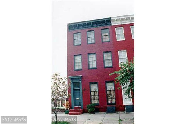 1307 Hollins Street, Baltimore, MD 21223 (#BA9946938) :: Pearson Smith Realty