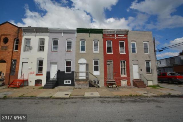 433-S Pulaski Street, Baltimore, MD 21223 (#BA9959665) :: LoCoMusings
