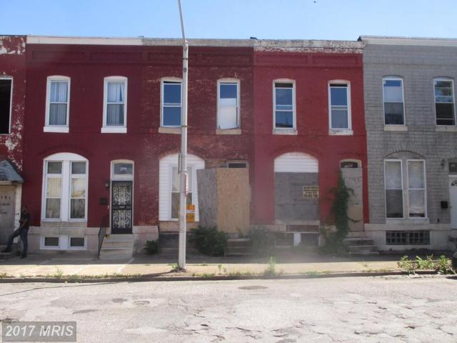 1747 Oliver Street E, Baltimore, MD 21213 (#BA9976086) :: Pearson Smith Realty