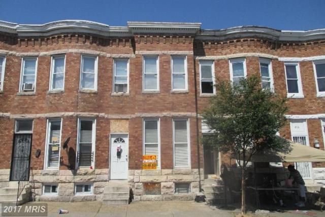 812 Appleton Street, Baltimore, MD 21217 (#BA9983329) :: LoCoMusings