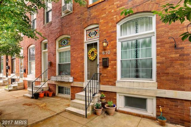 610 Belnord Avenue S, Baltimore, MD 21224 (#BA9983575) :: The Dailey Group