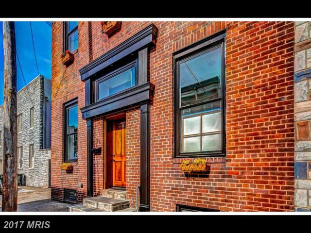 318 Regester Street, Baltimore, MD 21231 (#BA9986298) :: Pearson Smith Realty