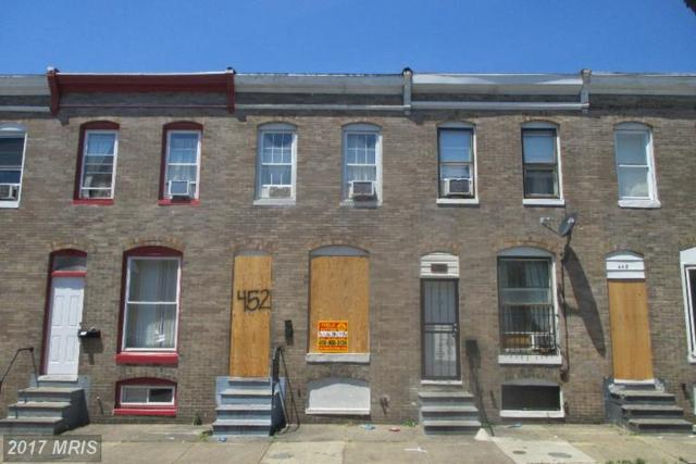 452 Furrow Street, Baltimore, MD 21223 (#BA9988366) :: The Dailey Group