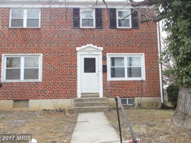 610 Gibson Road, Baltimore, MD 21229 (#BA9988632) :: The Bob Lucido Team of Keller Williams Integrity