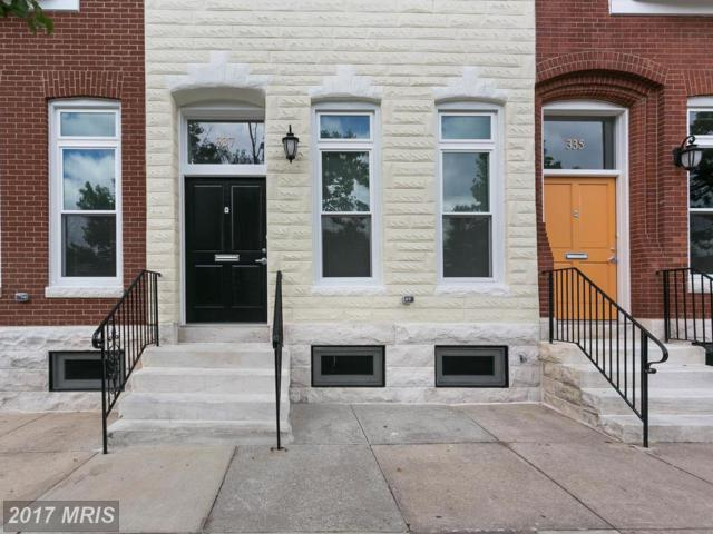 337 20TH Street E, Baltimore, MD 21218 (#BA9991802) :: LoCoMusings