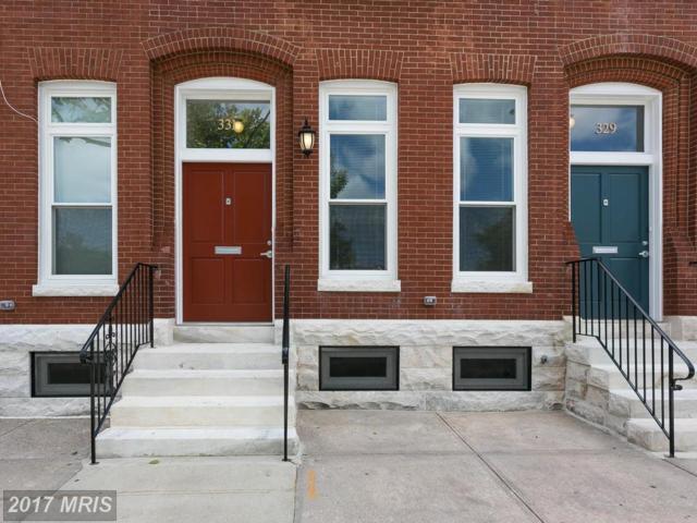 331 20TH Street E, Baltimore, MD 21218 (#BA9991824) :: LoCoMusings