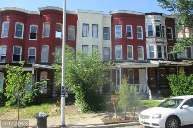 2819 North Avenue W, Baltimore, MD 21216 (#BA9992904) :: Pearson Smith Realty