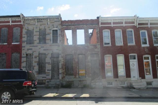 1107 Patterson Park Avenue N, Baltimore, MD 21213 (#BA9995760) :: LoCoMusings