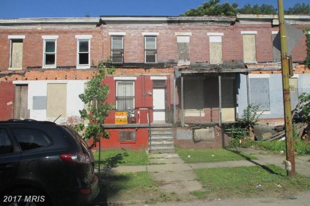 1716 Dukeland Street, Baltimore, MD 21216 (#BA9996833) :: Pearson Smith Realty