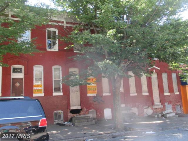 2143 Lexington Street, Baltimore, MD 21223 (#BA9998228) :: Pearson Smith Realty