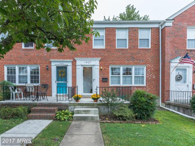 1427 Putty Hill Avenue, Towson, MD 21286 (#BC10081253) :: Gladis Group