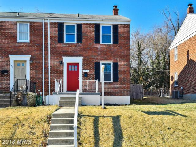 168 Cherrydell Road, Catonsville, MD 21228 (#BC10143921) :: The Miller Team
