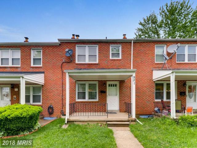 951 Fairmount Avenue, Baltimore, MD 21204 (#BC10245110) :: The Sebeck Team of RE/MAX Preferred