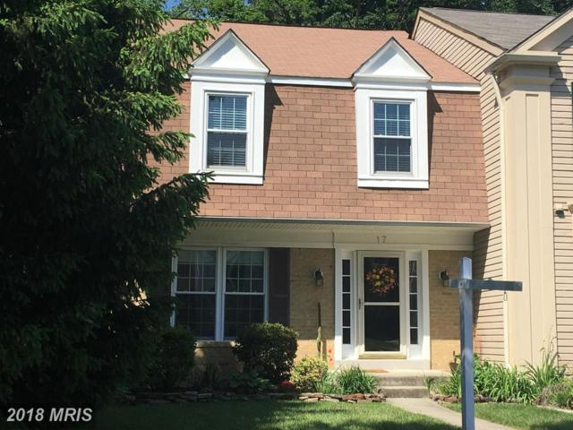 17 Battersea Bridge Court, Lutherville Timonium, MD 21093 (#BC10250925) :: The Dailey Group