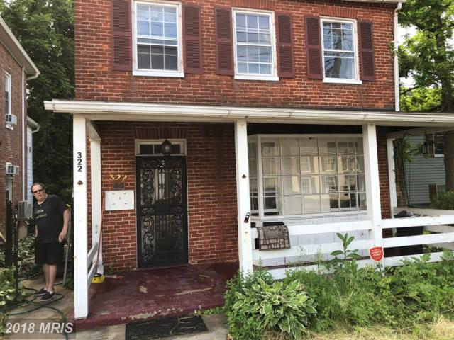 322 Reisterstown Road, Reisterstown, MD 21136 (#BC10256559) :: The Gus Anthony Team