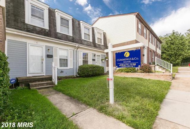 45 Lerner Court #35, Baltimore, MD 21236 (#BC10352896) :: LoCoMusings