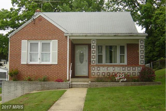 322 Savannah Road, Baltimore, MD 21221 (#BC9946380) :: LoCoMusings