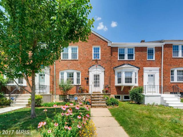 202 Blenheim Road, Baltimore, MD 21212 (#BC9991359) :: Pearson Smith Realty