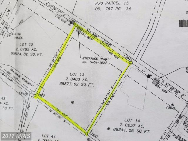 Lot 13 Scabble Rd, Martinsburg, WV 25404 (#BE10015363) :: Pearson Smith Realty