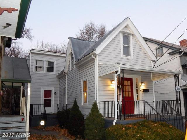 316 Stephen Street W, Martinsburg, WV 25401 (#BE10114214) :: Hill Crest Realty