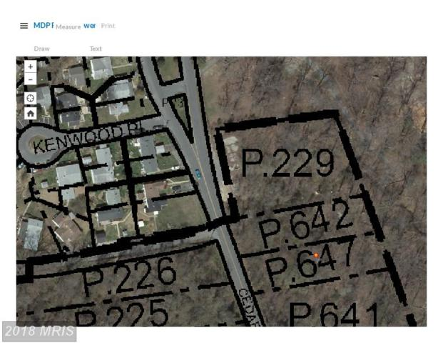 Cedar Lane, Indian Head, MD 20640 (#CH10300917) :: Dart Homes