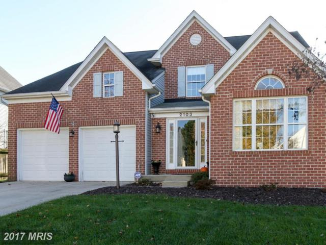2103 Cottage Hill Court, Eldersburg, MD 21784 (#CR10107005) :: RE/MAX Advantage Realty