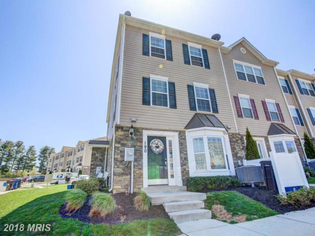 1913 Lennox Drive #190, Eldersburg, MD 21784 (#CR10219203) :: Bob Lucido Team of Keller Williams Integrity