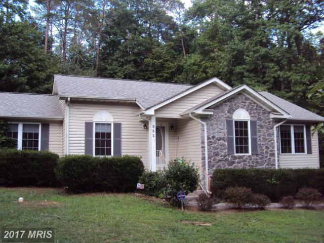 551 Lake Caroline Drive, Ruther Glen, VA 22546 (#CV10007722) :: Green Tree Realty