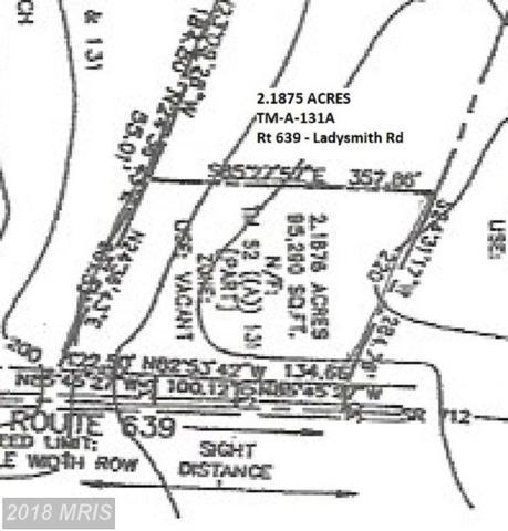 0 Ladysmith Road, Ruther Glen, VA 22546 (#CV10184336) :: The Crews Team