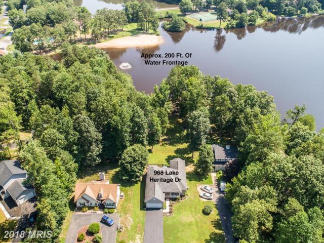 968 Lake Heritage Drive, Ruther Glen, VA 22546 (MLS #CV10289964) :: Explore Realty Group