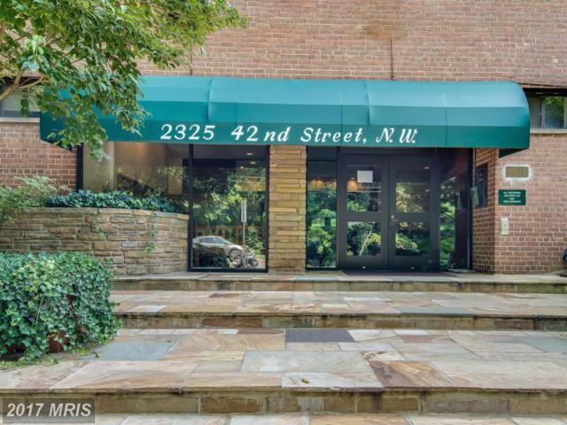 2325 42ND Street NW #209, Washington, DC 20007 (#DC10012370) :: LoCoMusings