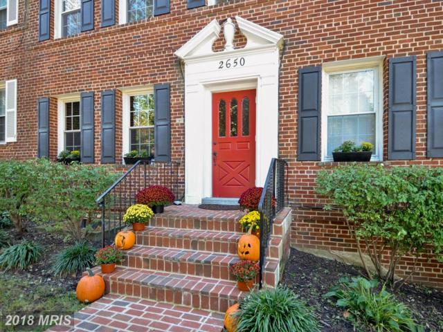2650 39TH Street NW #1, Washington, DC 20007 (#DC10129564) :: Pearson Smith Realty