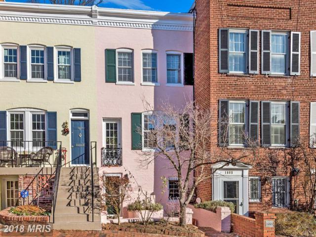 1667 32ND Street NW, Washington, DC 20007 (#DC10132699) :: Pearson Smith Realty