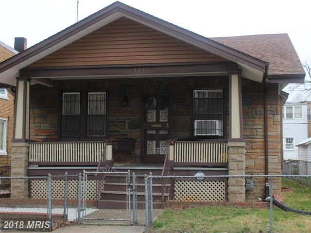 1516 S Street SE, Washington, DC 20020 (#DC10202455) :: Keller Williams Pat Hiban Real Estate Group