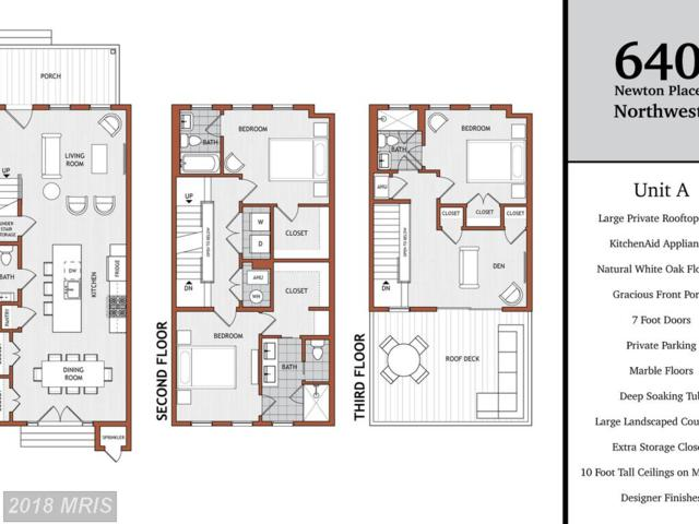 640 Newton Place NW A, Washington, DC 20010 (#DC10245032) :: Dart Homes
