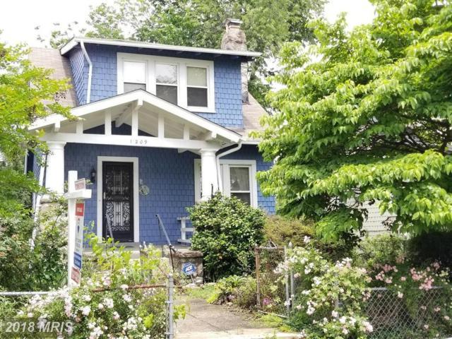 1209 Gallatin Street NW, Washington, DC 20011 (#DC10256959) :: Provident Real Estate