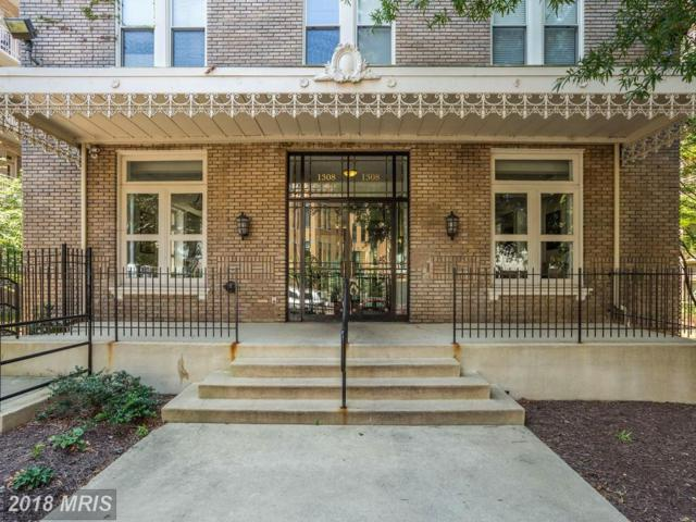 1308 Clifton Street NW #307, Washington, DC 20009 (#DC10274512) :: RE/MAX Cornerstone Realty