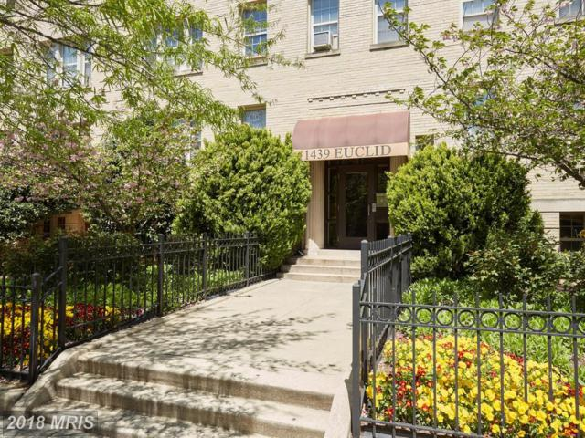1439 Euclid Street NW #104, Washington, DC 20009 (#DC10277879) :: RE/MAX Cornerstone Realty