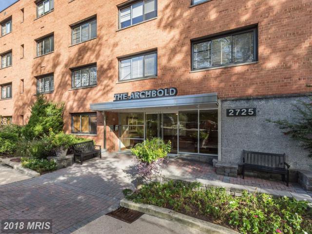 2725 39TH Street NW #114, Washington, DC 20007 (#DC10291073) :: Keller Williams Pat Hiban Real Estate Group