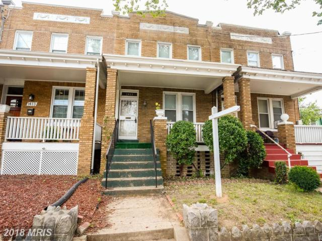 1411 S Street SE, Washington, DC 20020 (#DC10303257) :: Frontier Realty Group