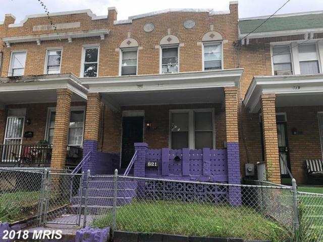 821 Marietta Place NW, Washington, DC 20011 (#DC10353422) :: The Maryland Group of Long & Foster