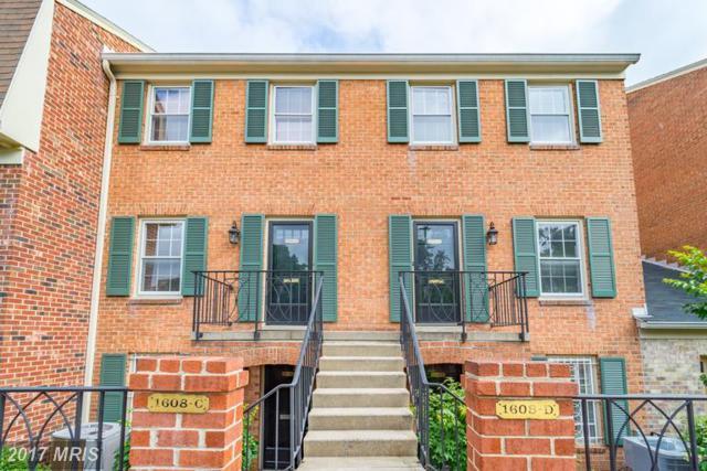 1608 Belmont Street NW C, Washington, DC 20009 (#DC9971385) :: Eng Garcia Grant & Co.