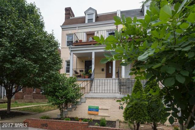 4108 14TH Street NW #3, Washington, DC 20011 (#DC9982718) :: The Cruz Group