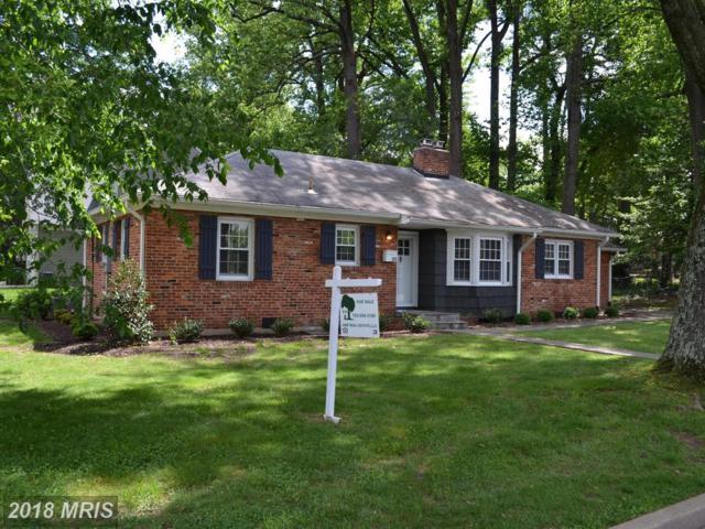322 Park Avenue, Falls Church, VA 22046 (#FA10261789) :: Browning Homes Group
