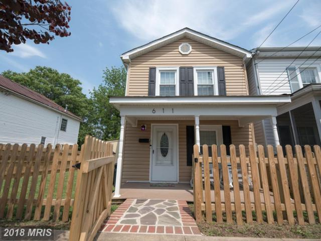 611 Spottswood Street, Fredericksburg, VA 22401 (#FB10241411) :: The Withrow Group at Long & Foster