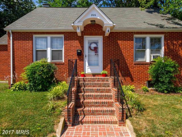 806 Littlepage Street, Fredericksburg, VA 22401 (#FB9995868) :: LoCoMusings