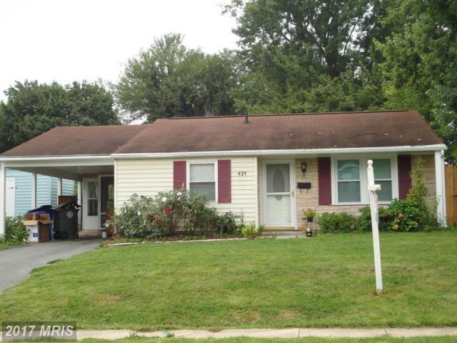 424 Carrollton Drive, Frederick, MD 21701 (#FR10032165) :: Pearson Smith Realty
